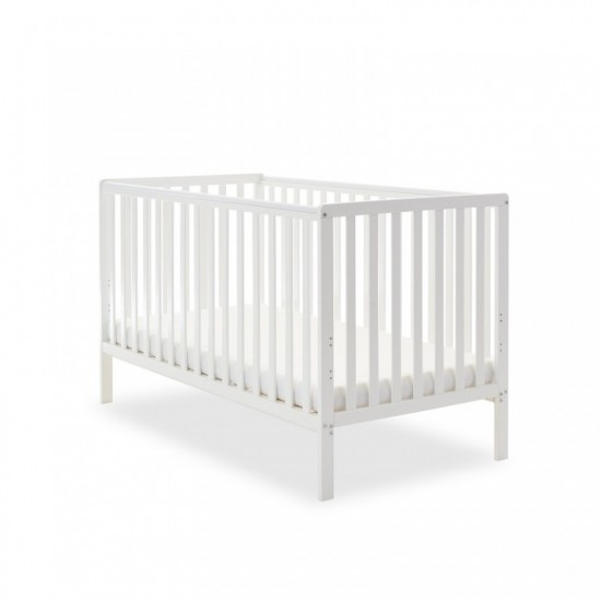 BANTAM COT BED - WHITE