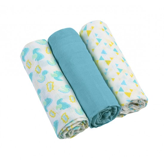 Baby Muslin Square Set of 3...