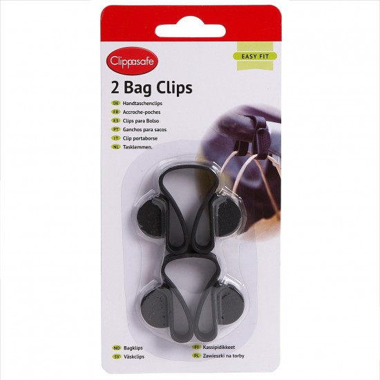 Clippasafe Bag Clips (2 Pack)