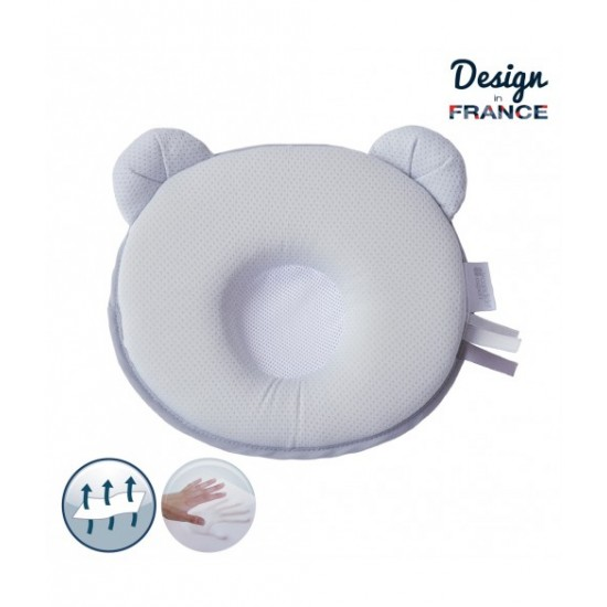P'tit Panda Air+ Pillow - Grey
