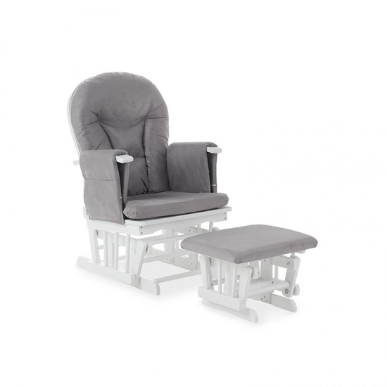 RECLINING GLIDER CHAIR AND...