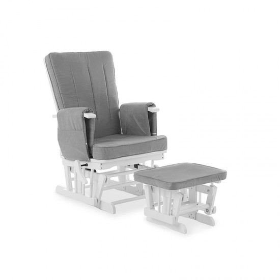 DELUXE RECLINING GLIDER...