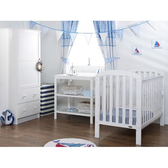 LILY 3 PIECE ROOM SET - WHITE
