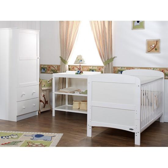 GRACE 3 PIECE ROOM SET - WHITE