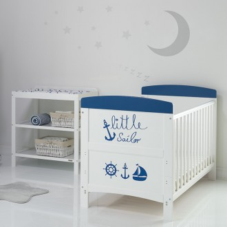 SWEETY/BALI 2 Piece Furniture Set with Cot & Dresser