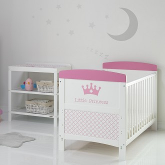 ACAPULCO 2 Piece Furniture Set With Cot & Dresser