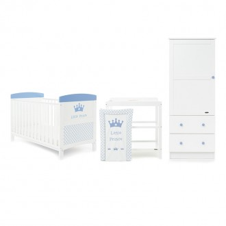 PALMA 2 Piece Furniture Set With Cot & Dresser