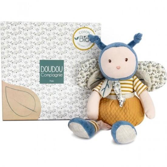Soft Teddy Bee Cotton Bio (0+)