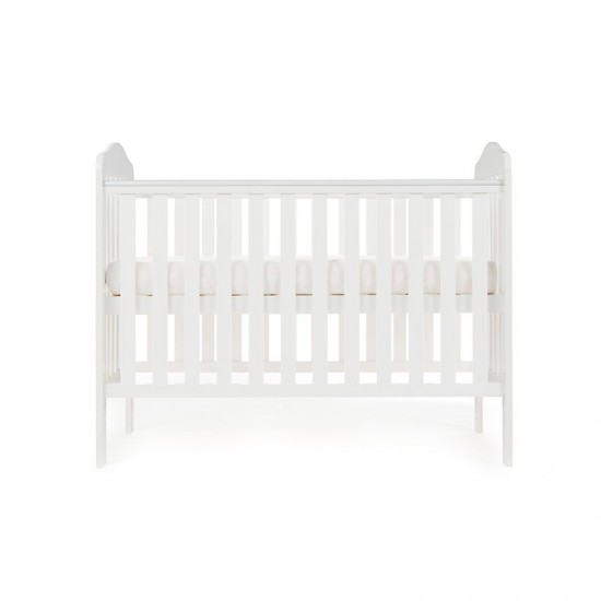 Obaby Cot LUDLOW  - WHITE