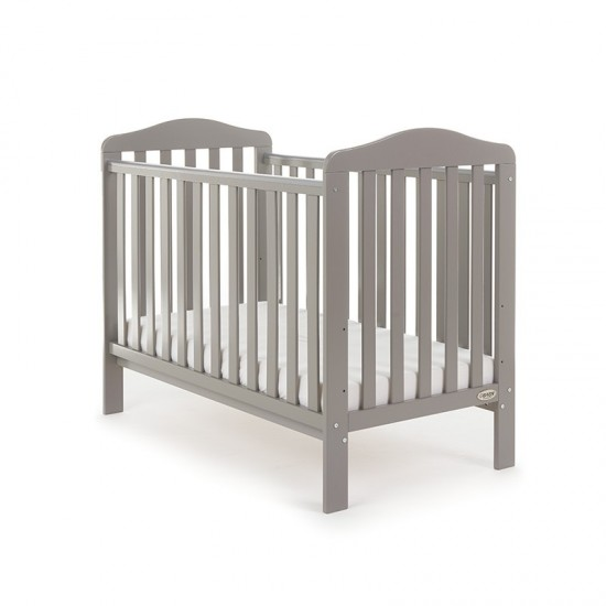 Obaby Cot LUDLOW  - TAUPE GREY