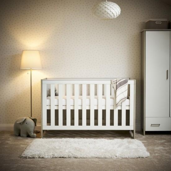 NIKA COT BED - GREY WASH &...