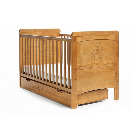 WINNIE THE POOH COT BED &...